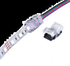 ip20 rgb connector van strip naar kabel