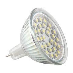 LED lamp GU5.3 30 LED 2W 3528 230V koud wit
