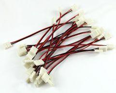 Ledstrip smd 5050 kabel met connectors 15cm - 50cm - 100cm